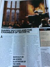 B3a Ephemera 2003 Film Review Harrypotter And the Chamber Of Secrets