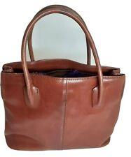 MONSAC Original Genuine Leather Handbag Authentic