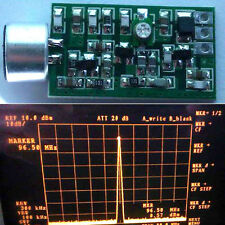 FM Transmitter Module 60MHZ-128 MHZ Bug Wiretap Dictagraph Interceptor V3.2