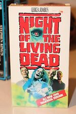 Night Of The Living Dead -1990-VHS signed by Tom Savini!!