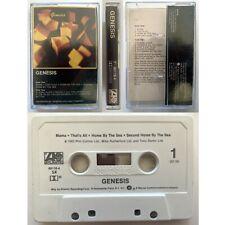 GENESIS Genesis (Cassette Tape) Atlantic 1983 Ex Condition
