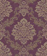 Arthouse Palazzo Mulberry Wallpaper 290401 Italian Damask Metallic