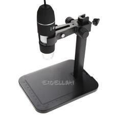 800X 8 LED 2MP USB Digital Microscope Endoscope Magnifier Camera+Lift Stand E0Xc