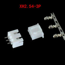 60Stk XH2.54-3P Connector Kits 2.54mm Pin Header + 20* 3P Terminal + 20* Housing