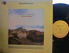 Barbra Streisand - Stoney End (Columbia CQ 30378) (Quad) (3 Laura Nyro tunes!)