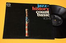 COUNT BASIE 2LP TOP JAZZ HISTORY ORIG ITALY VERVE 1972 NM ! AUDIOFILI LAMINATED