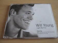 """WILL YOUNG """" LIGHT MY FIRE """" CD SINGLE - VERY GOOD"""