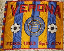 SCIARPA SCARF BANDIERA FLAG CALCIO ULTRAS HELLAS VERONA 70'S (649)