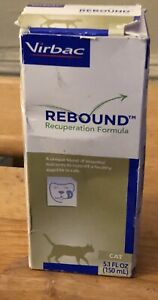 Virbac Rebound Recuperation Formula for a Healthy Appetite in Cats  5.1 oz