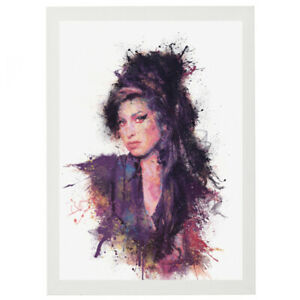 AMY 'Song in My Soul' White Framed Print Signed by Daniel Mernagh