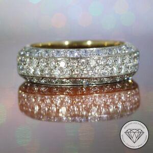 Wert 7.500,- Wempe Brillant Damen Ring 1,65 Carat 750 / 18 Karat Gold xxyy