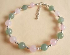 Gemstone Crystal Healing Skin Conditions Eczema Acne Hives Allergies Anklet