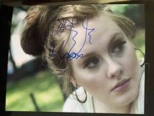 """ADELE wonderful hand-signed 10"""" x 8"""" colour photo with COA"""