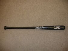 1995 World Series Louisville Slugger Black Bat-Cleveland Indians-Cy Buynak