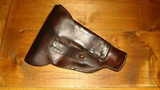 WW1 German 1917 A.Ph.Hoffmann Mauser 1910/14 Leather Holster .