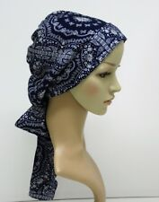 Head scarf, head bonnet, women's bandanna, tichel, head snood, chemo headscarf