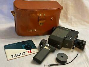 Vintage Yashica 8mm Umatic Power Movie Camera With Case
