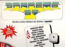 SANREMO 87 disco LP 33 g. MARCELLA BELLA MANGO PATTY PRAVO ORME LENA BIOLCATI