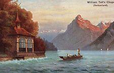 POSTCARD  SWITZERLAND  William Tell's  Chapel