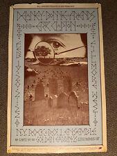 Very Old Fillmore West Rock Posters Delaney Bonny& Friends W/Eric Clapton!Bg#218
