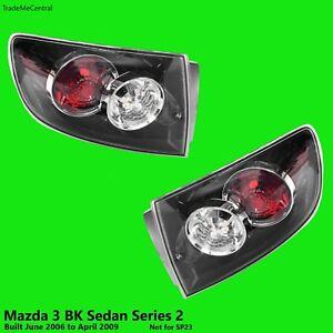 Mazda 3 BK Series 2 SEDAN Outer Tail Lights 2006 2007 2008 09 Left Right NON-LED