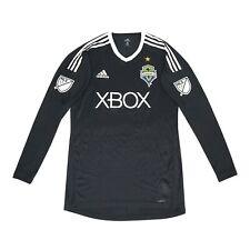 Seattle Sounders FC MLS Adidas Men's Black Long Sleeve Goalkeeper Jersey