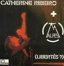 CD Catherine Ribeiro + Alpes (Libertés ?) (1975) - Mini LP Réplica - 5-track