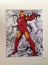 Iron Man - Marvel Comics - Hand Drawn & Hand Painted Cel
