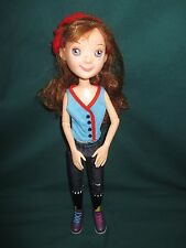 """2011 Tonner Toys LittleMissMatched ROCK N ROLL GIRL 15"""" Jointed RED HEAD Doll"""