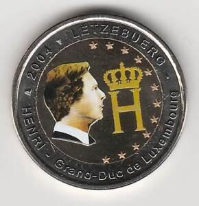 A --- 2004 - 2 EURO C0ULEUR --- LUXEMBOURG / HENRI GRAND-DUC DE LUXEMBOURG