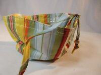 *Longaberger Little Laundry Basket Liner -- Sunflower Stripe