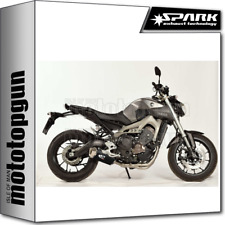 SPARK ESCAPE COMPLETO FORCE RACING ACERO NEGRO YAMAHA MT 09 TRACER 2015 15
