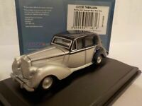 Model Car, Bentley MKV1, Silver, Blue, 1/76 New