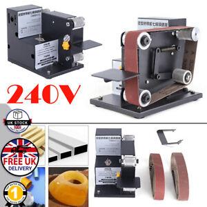 Power File Belt Sander / Bench Electric Sanding With 10 Belts 30 x 530mm Grinder
