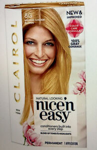 CLAIROL NICE 'N EASY Hair Color #8G Medium Golden Blonde
