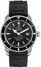 A1732124/BA61-153S | NEW BREITLING SUPEROCEAN HERITAGE 42 ON RUBBER MEN'S WATCH