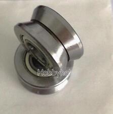 1pcs Lv204 57 205722mm V Groove Sealed Ball Track Roller Guide Vgroove Bearing