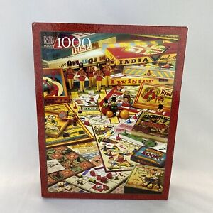 The Games Of Your Life vintage 1000 PC Jigsaw Puzzle MB 1995 Sealed New