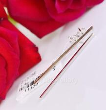 HIT !!! 925 Sterling Silver Rhodium Plated Long Studs Earrings