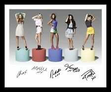 THE SATURDAYS AUTOGRAPHED SIGNED & FRAMED PP POSTER PHOTO