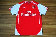 ARSENAL LONDON 2014/2015 HOME FOOTBALL SHIRT JERSEY MAGLIA CAMISETA SIZE MEDIUM