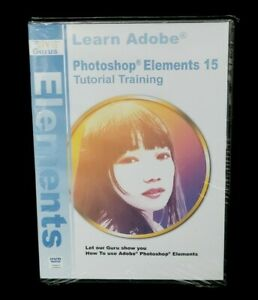 Adobe Photoshop Elements 15 Training on 3 DVDs, 16 Hours Software Tutorials NEW!