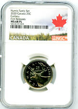 2020 CANADA 25 CENT NGC MS68 PL NUMIS-TASTIC UNCIRCULATED QUARTER FIRST RELEASES