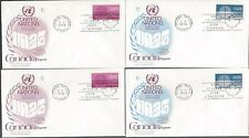 00006000 4 Canada Fdc's Various issues 1A56