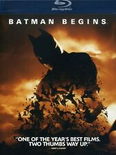 Batman Begins (2011, REGION A Blu-ray New) BLU-RAY/WS