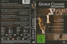 George Clooney Collection / 4-DVD`s / O,Brother/OutOfSight/ u.a. / #3865