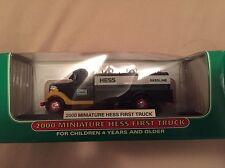2000 Hess Miniature First Truck Mini - NIB