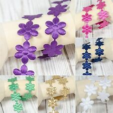 * Daisy * Flowers trim satin lace ribbon CRAFTS scrapbook crafts sewing Daisies