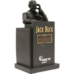 St. Louis Cardinals SGA Jack Buck Statue with voice chip NOT BOBBLEHEAD