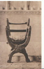 Hampshire Postcard - Winchester Cathedral - Queen Mary's Chair - Ref 6752A